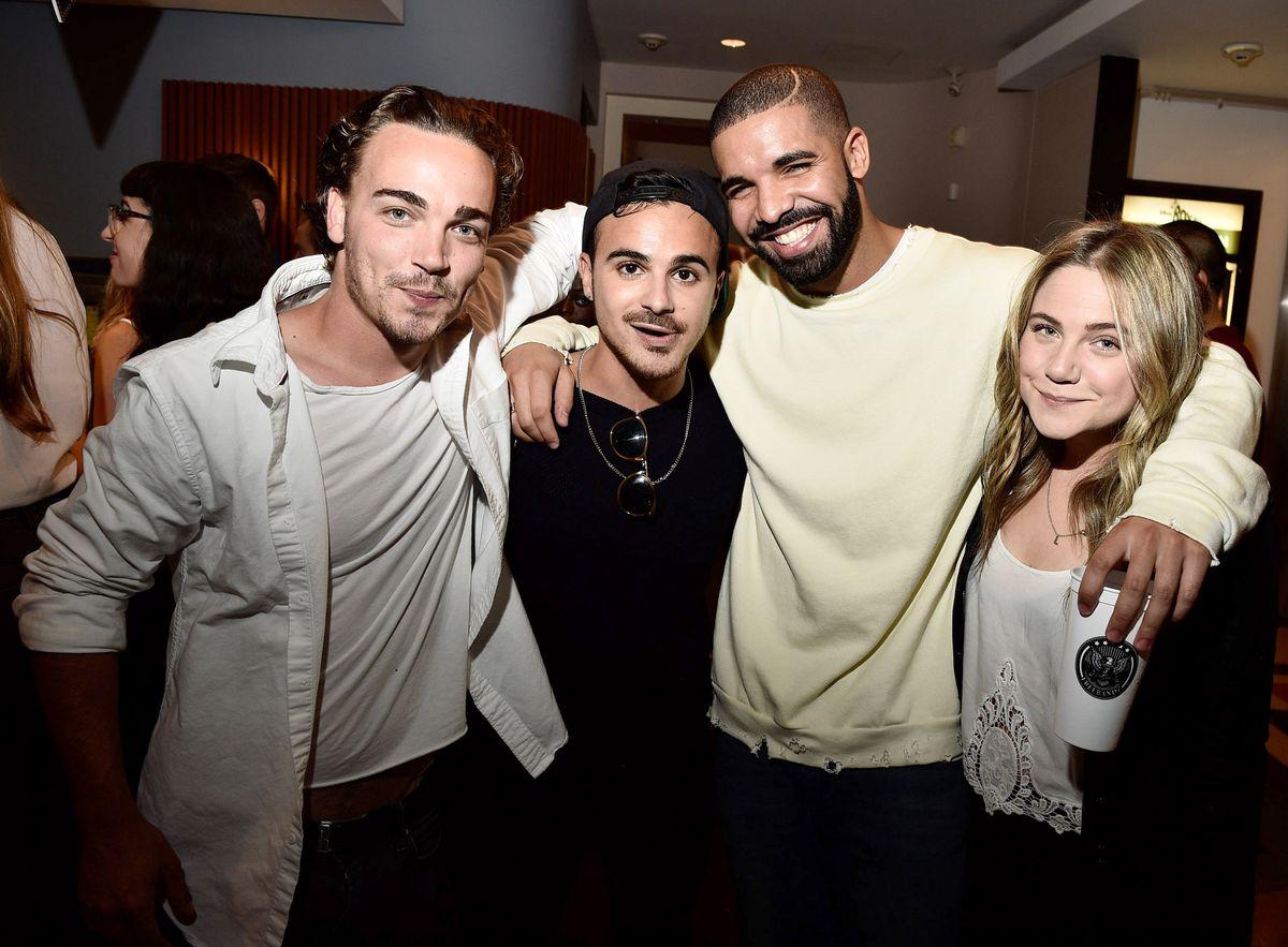 Drake and 'Degrassi' Cast