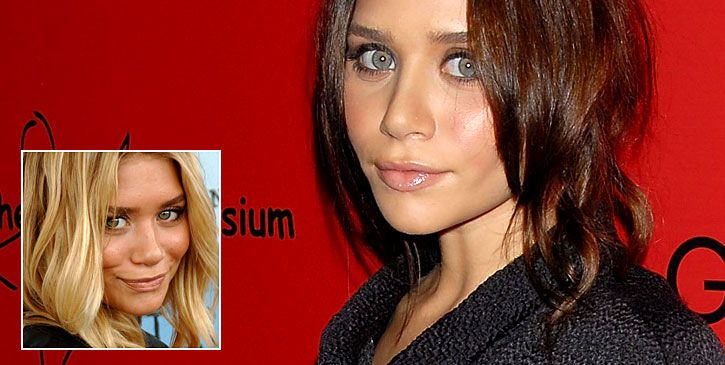 Ashley Olsen as BRUNETTE!