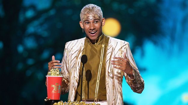 Love, Simon's Keiynan Lonsdale Accepts Best Kiss Award With A Magical Speech