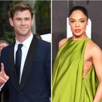 Chris Hemsworth And Tessa Thompson Take On More Aliens In First Men In Black Photo