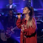 Watch Ariana Grande Hit Those Whistle Notes In Christmasy Tv Debut Of 'imagine'