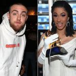 Cardi B Sends A Message To Mac Miller After Her Grammy Win: 'i'm Sharing This With You'