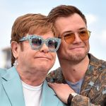 Taron Egerton And Elton John Take On The Icon's Legacy In Glitzy '(i'm Gonna) Love Me Again' Video