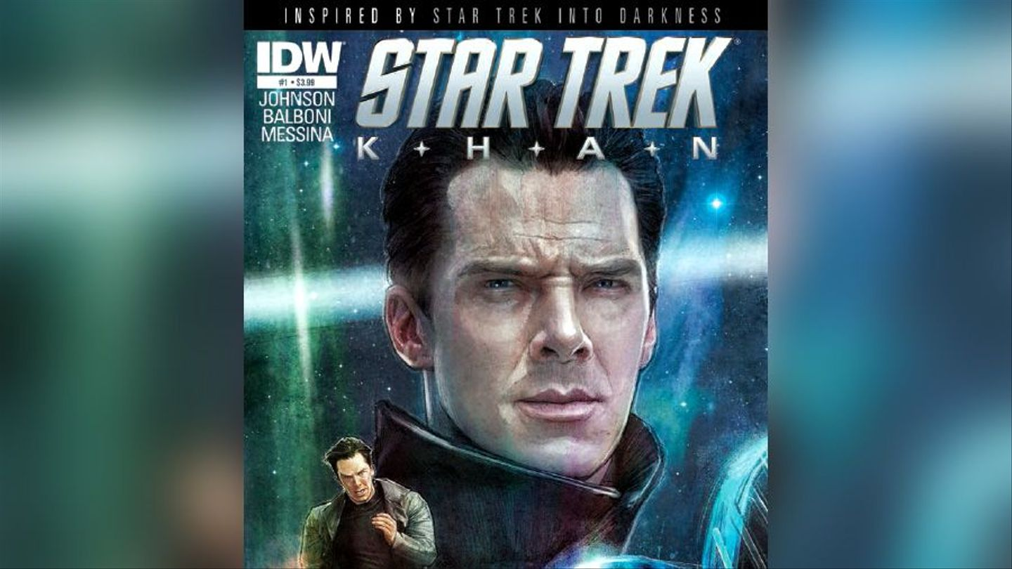 'Star Trek: Khan' Finally Answers Why Benedict Cumberbatch Was So White In 'Darkness'
