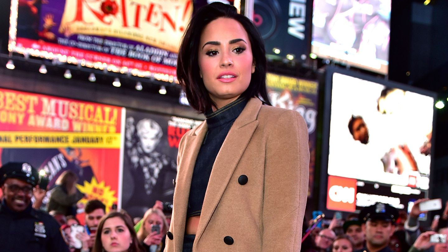 Demi Lovato Shares An Important Message About Facing Addiction