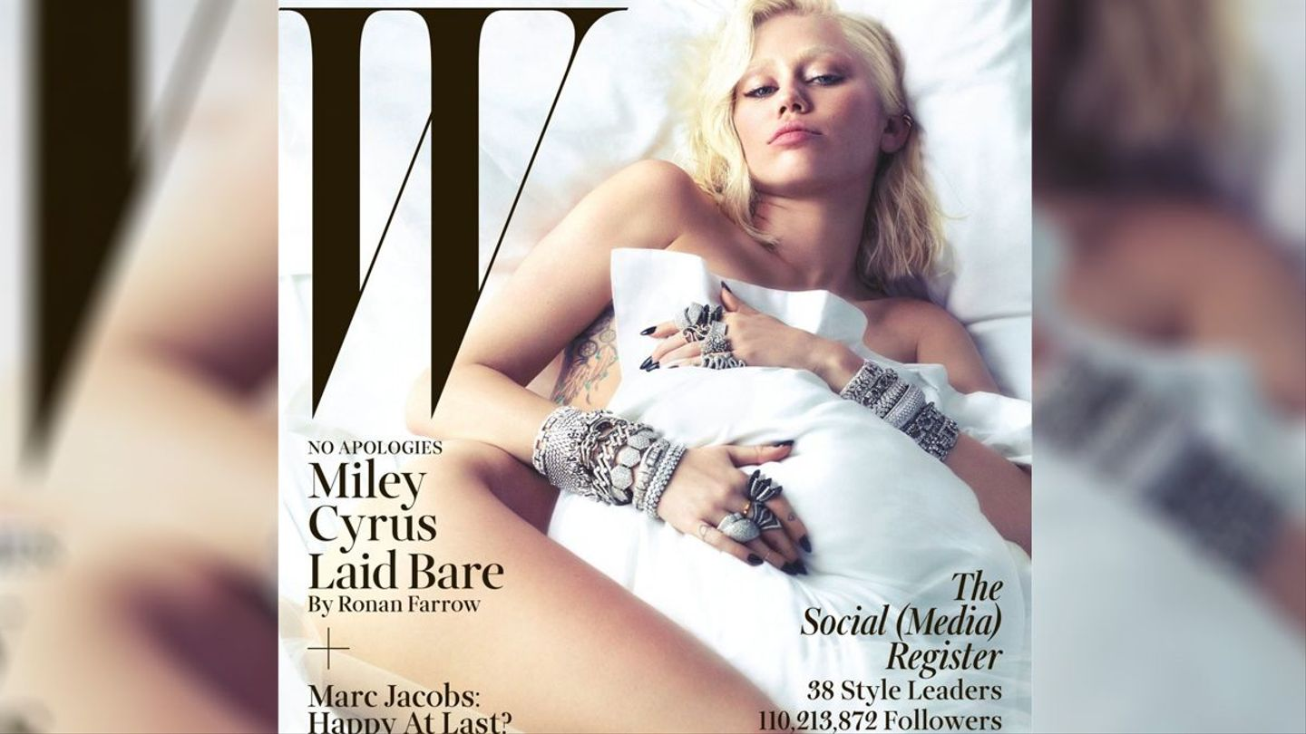 Miley Cyrus Tells Ronan Farrow She Doesnt Care for Kids