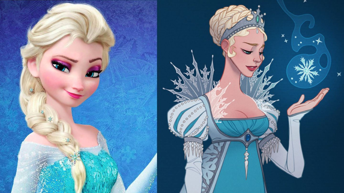 A Historically Accurate Elsa Has -- Dare We Say It -- An Even Prettier Dress