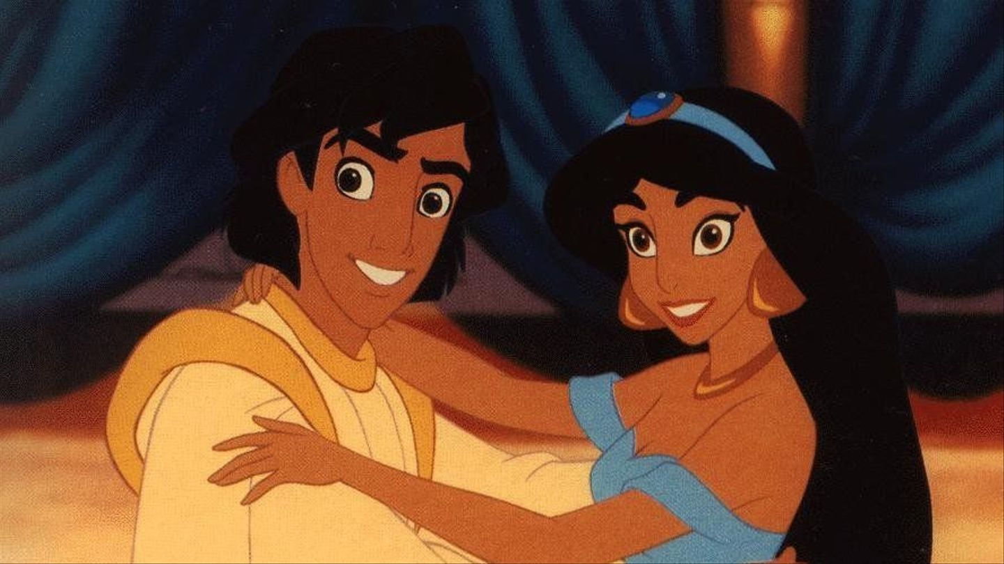 Aladdin And Jasmine Reunited Because Disney Romances Never Die