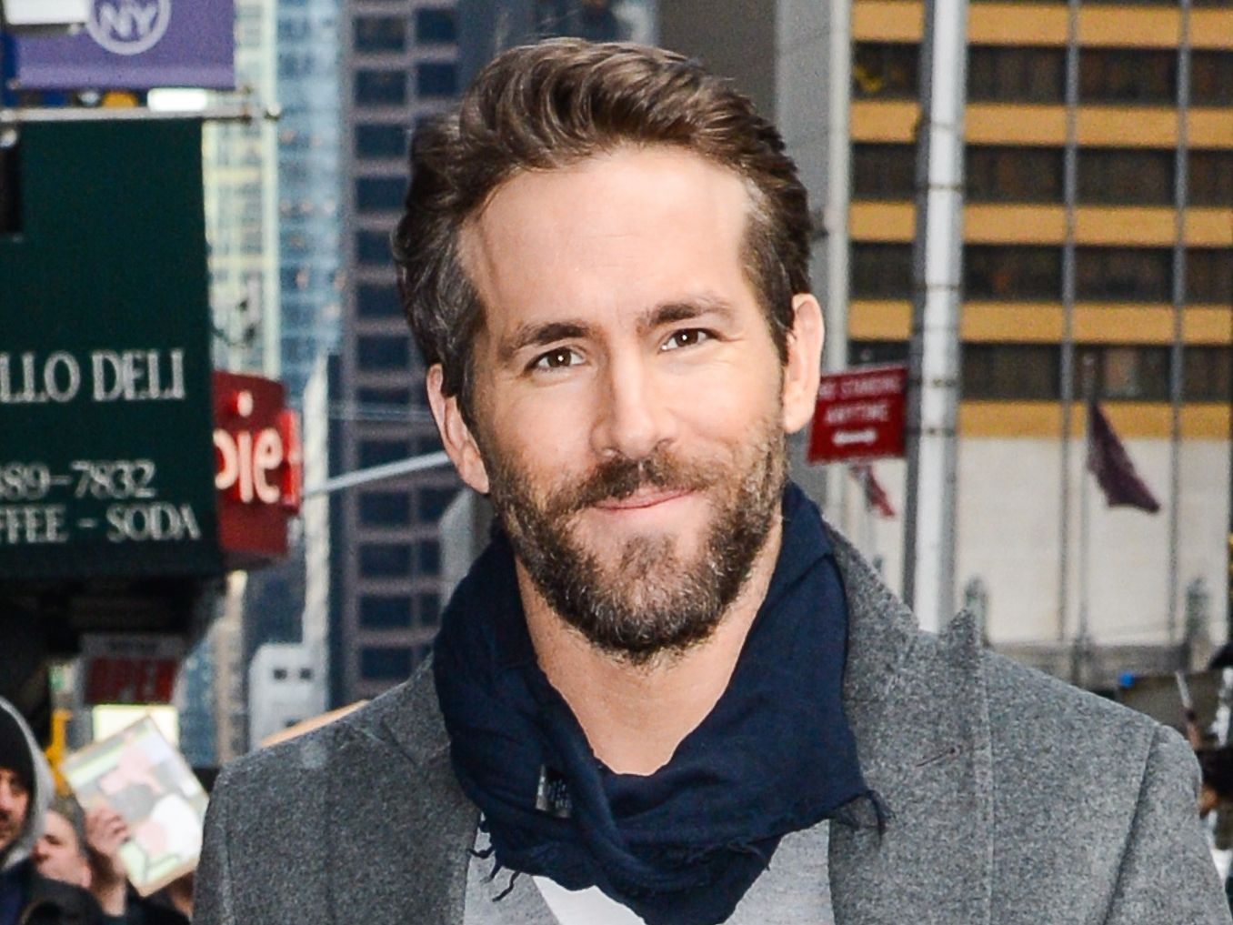 Ryan Reynolds' First Instagram Pic Shows Deadpool In Action
