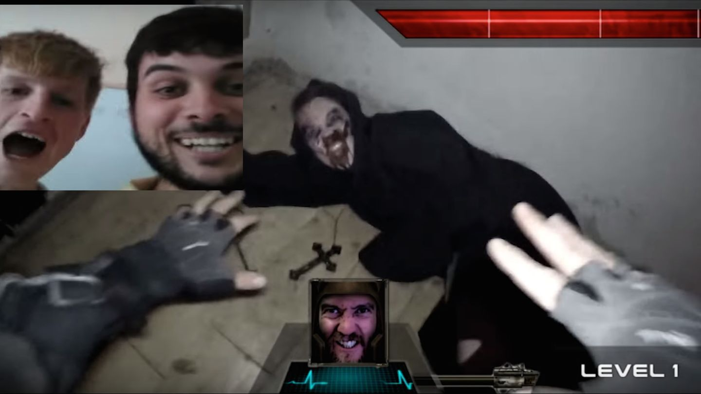 Someone Used Chatroulette To Draw People Into A Real-Life Zombie Video Game