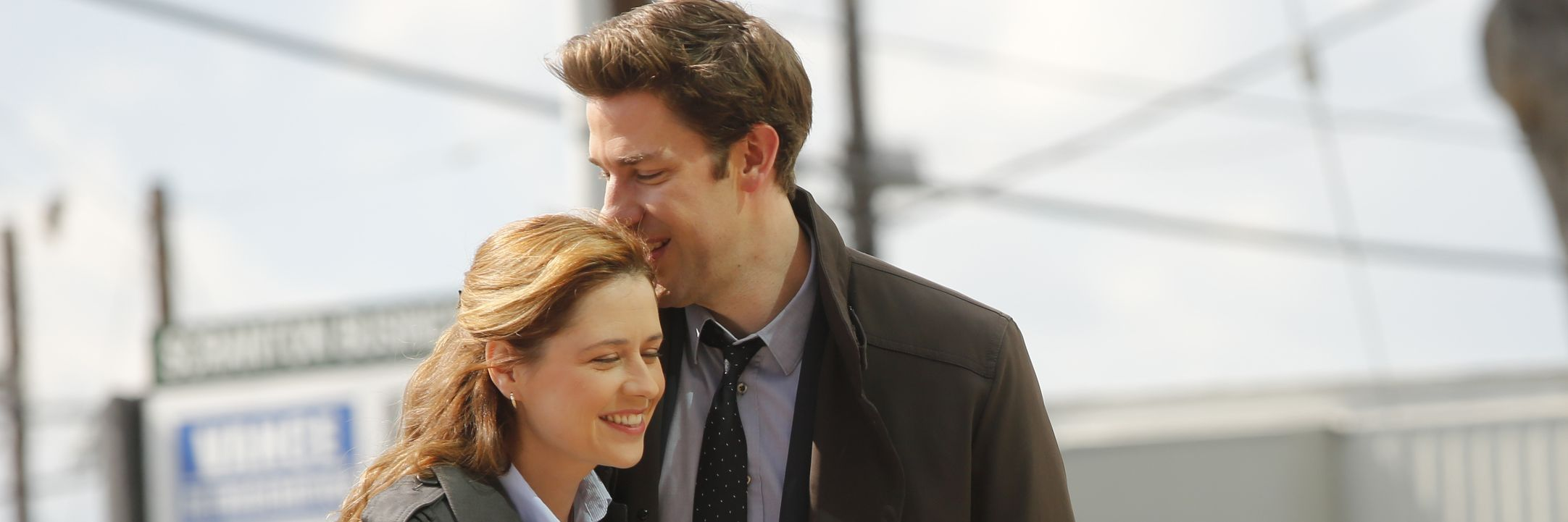 Jim and pam from the office hookup in real life