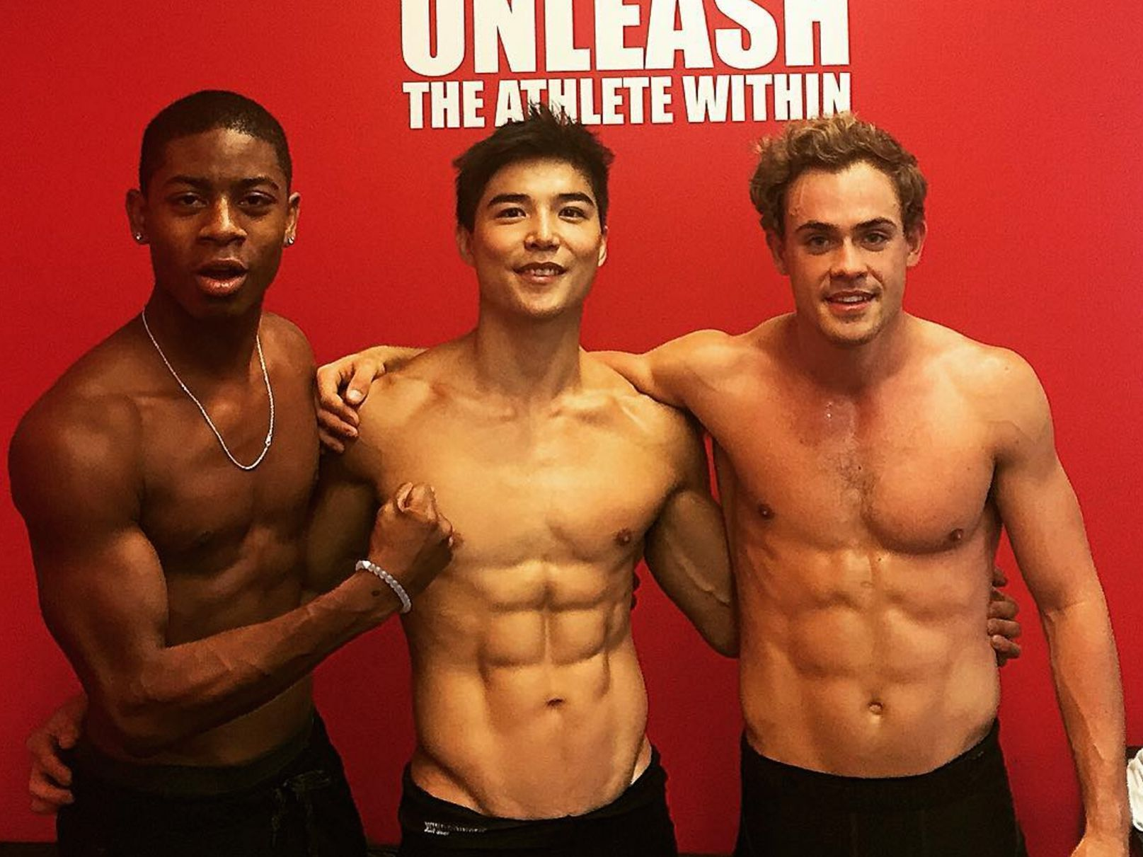 The Power Rangers Men Have Been Working Out -- And Good