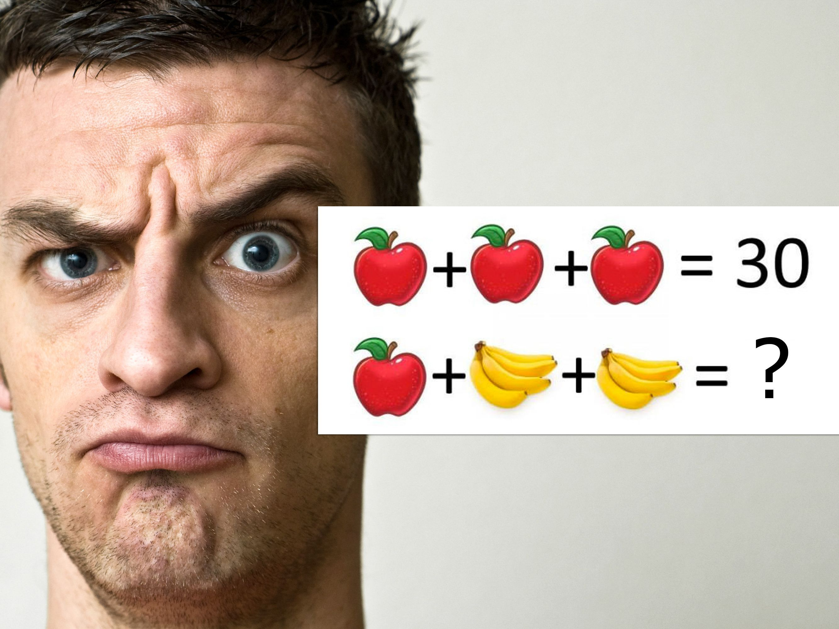 A Seemingly Simple Brain Teaser Is Driving Everyone Bananas And Coconuts And Apples Mtv