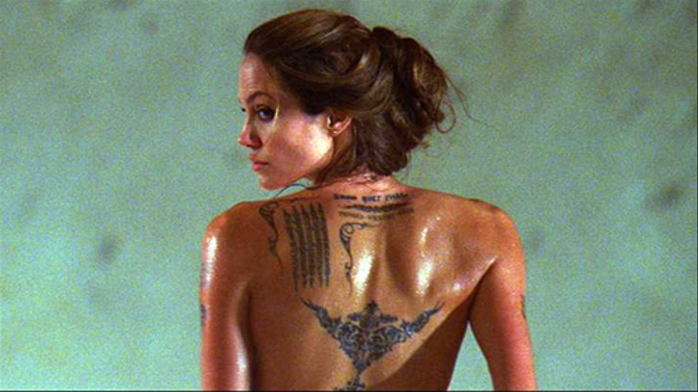 Angelina Jolie Sin Sex Scene angelina jolie's 9 sexiest roles - mtv