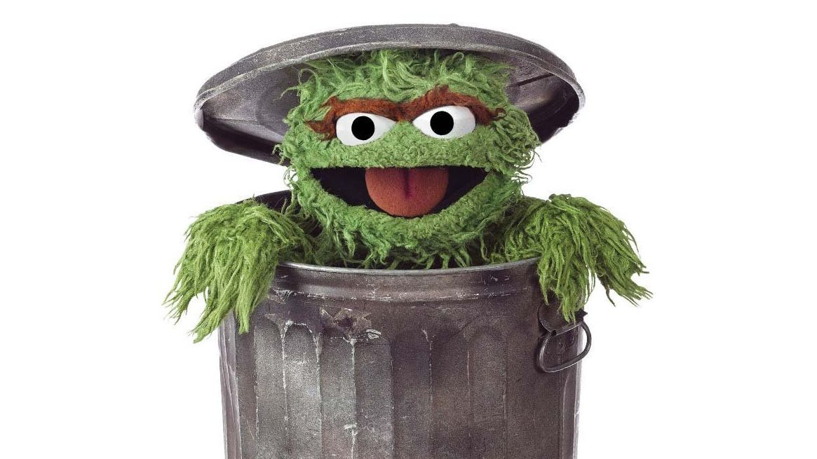 Oscar The Grouch S Reason For Living In A Trash Can Is Not