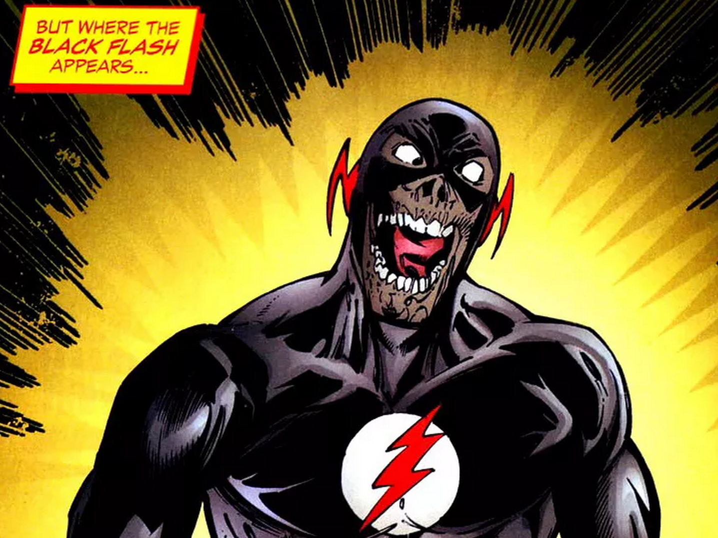 How Might Black Flash Fit Into The Flash Season 3 Mtv