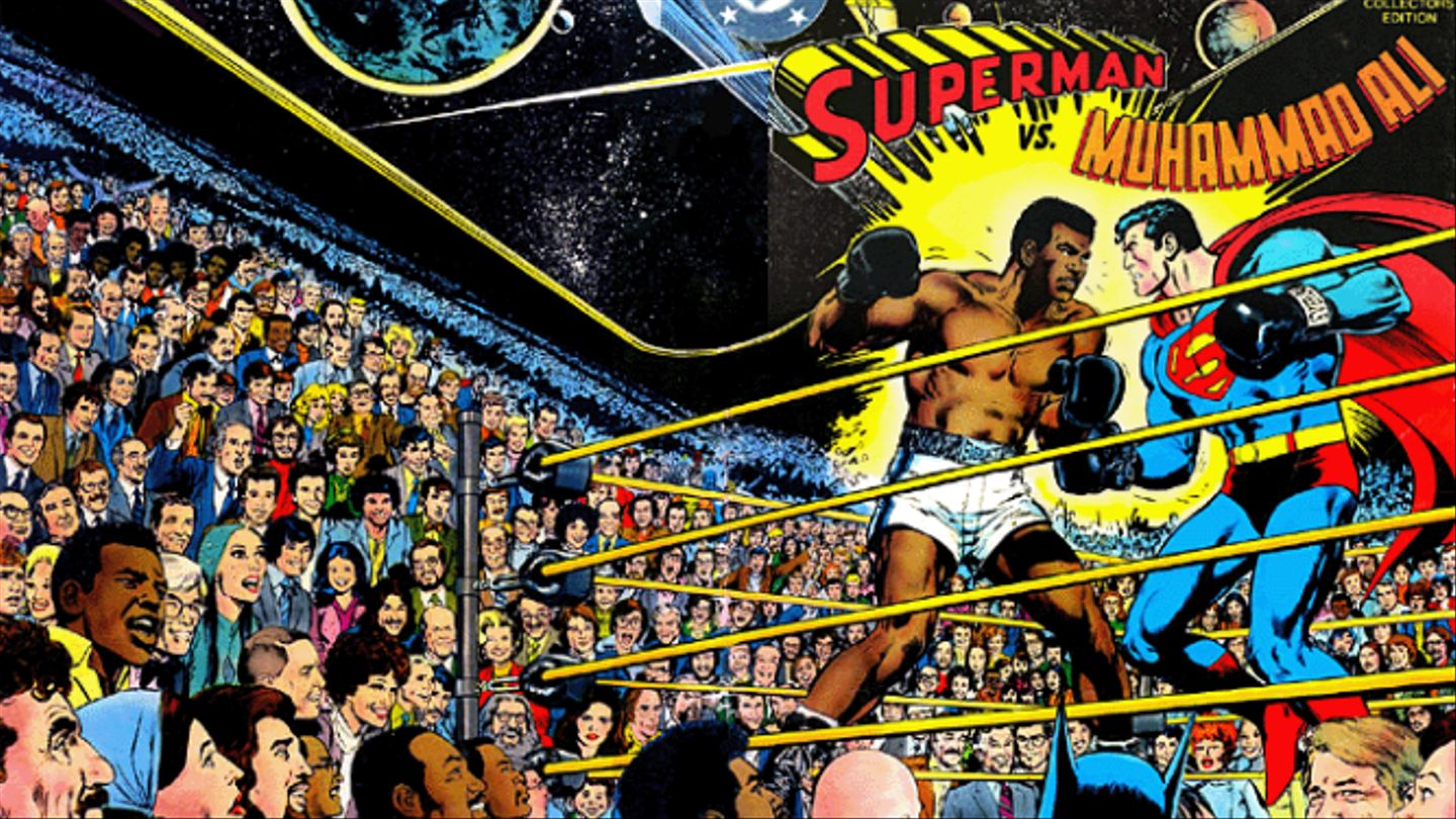 Superman Vs. Muhammad Ali: Truth, Justice, And The African-American Way