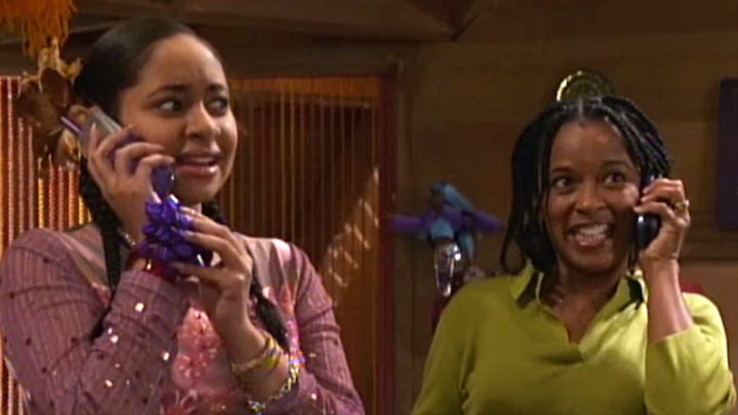 In that's So Raven , when racist store manager did not hired Raven becasue she was black.