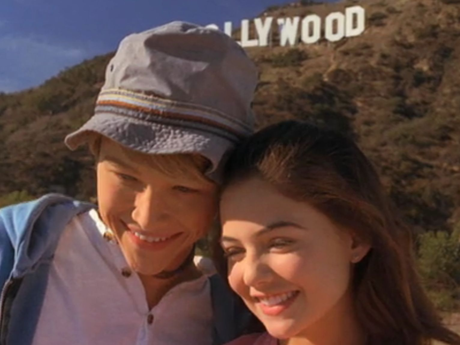 Starstruck S Sterling Knight And Danielle Campbell Had A Picture