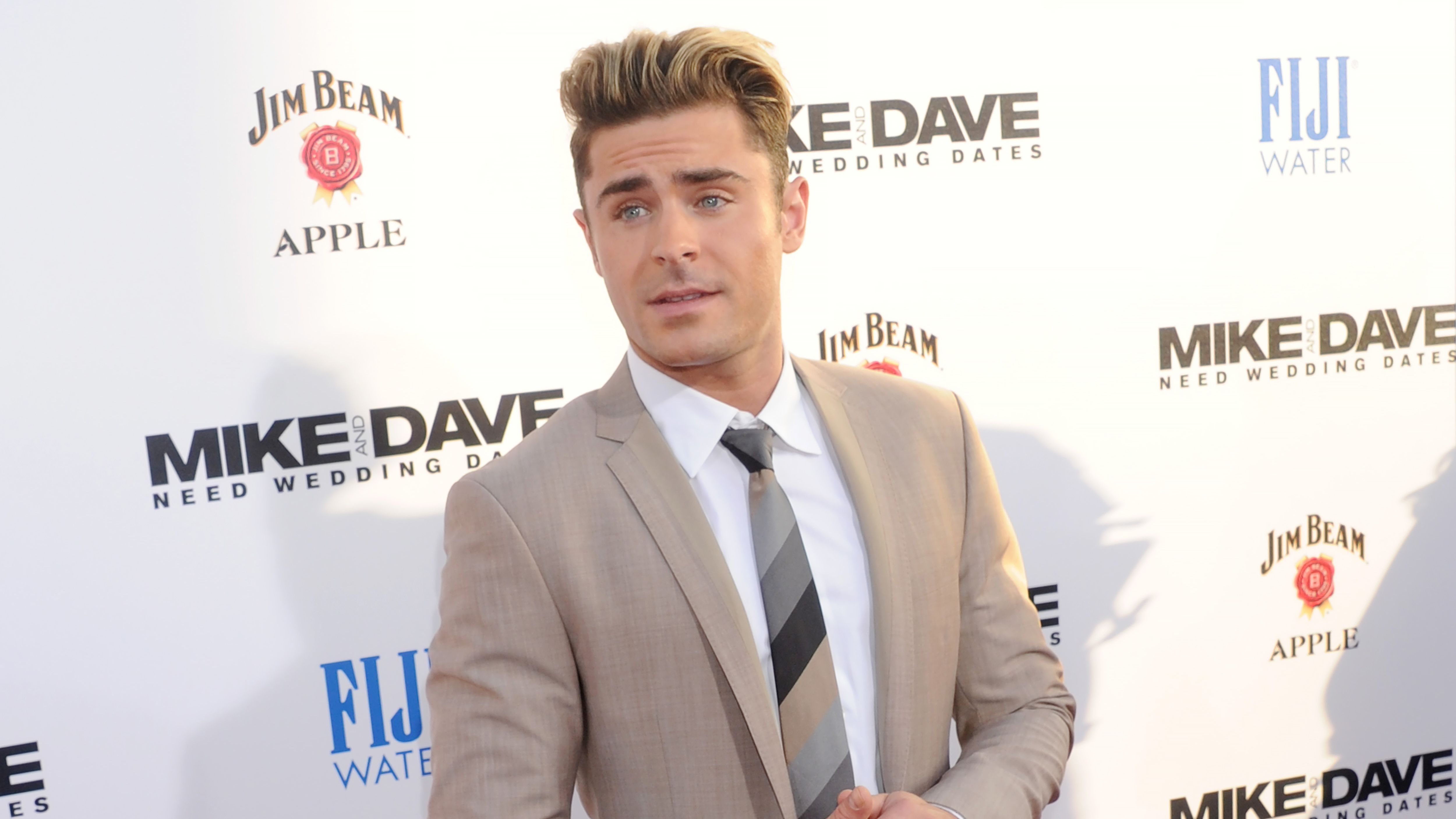 Zac Efron Had A Well Shit Moment After Dyeing His Hair Blonde Mtv