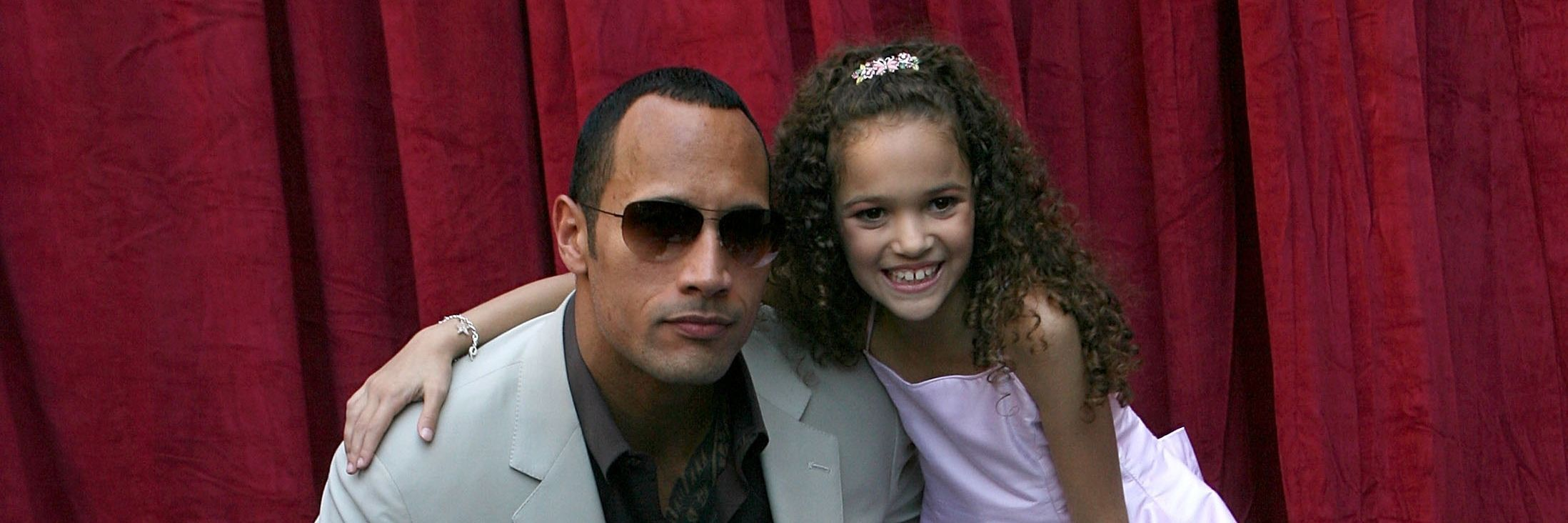 The Game Plan S Madison Pettis And The Rock Reunited After A