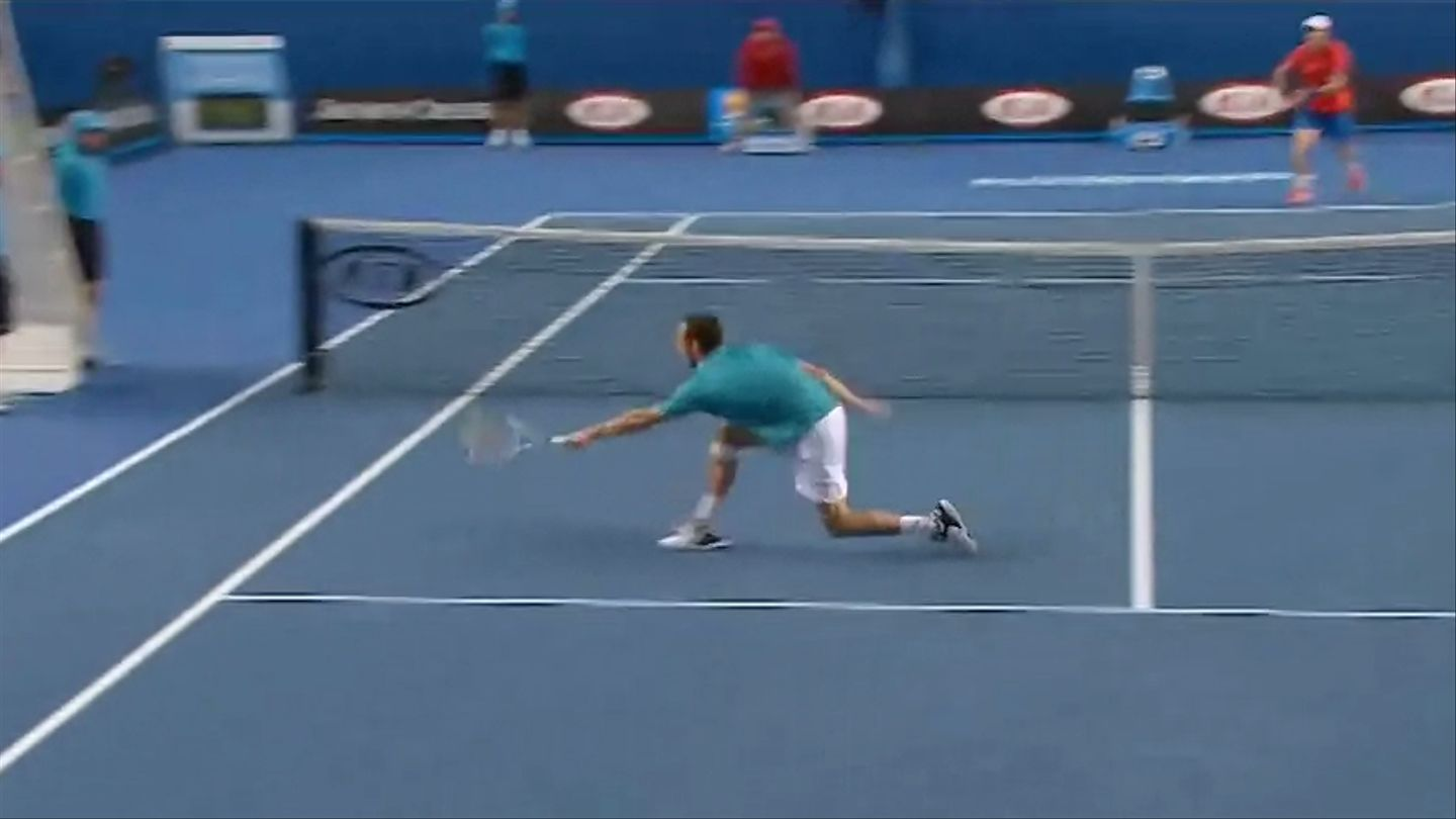 Watching A Tennis Match With The Ball Edited Out Is Like 'Mario Tennis' On Steroids