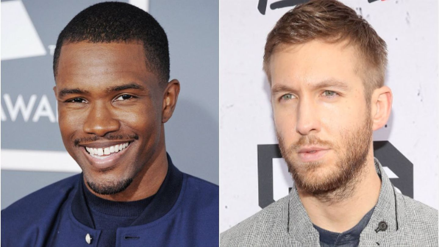 Did Calvin Harris Record A New Banger With Frank Ocean?