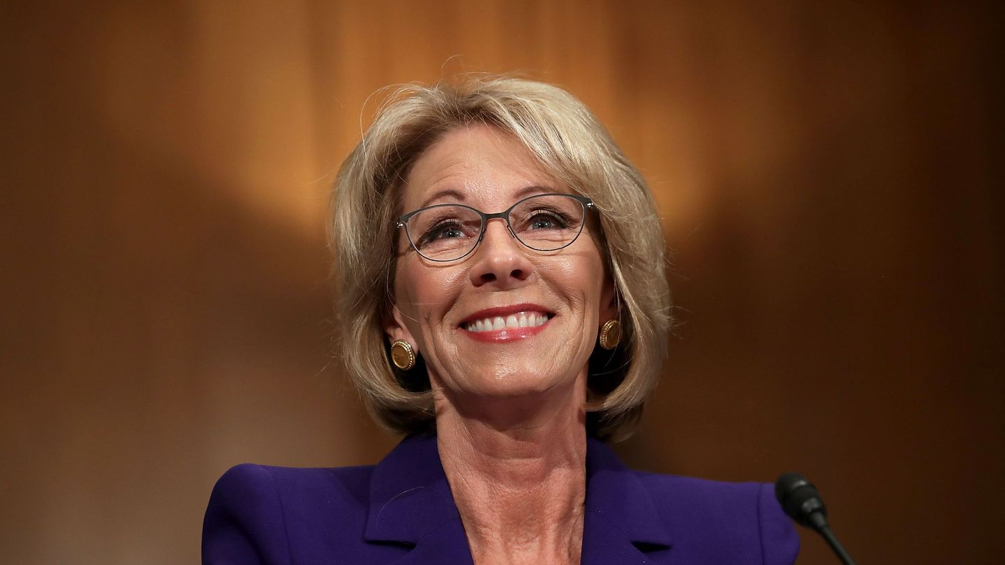 Betsy DeVos Could Be A Disaster For The Campus Sexual Assault Movement