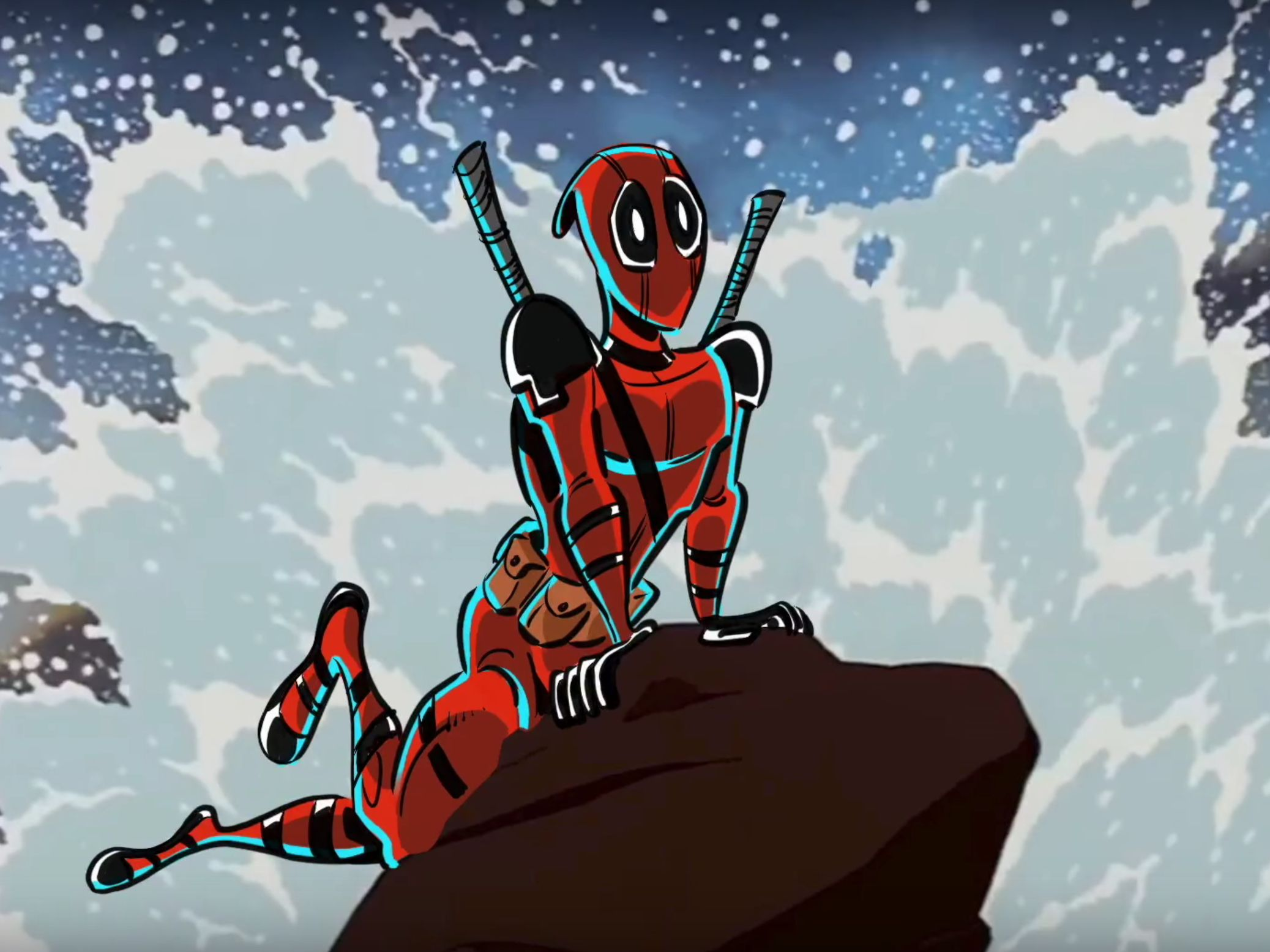 Deadpool Is Now An Honorary Disney Princess Thanks To Danny