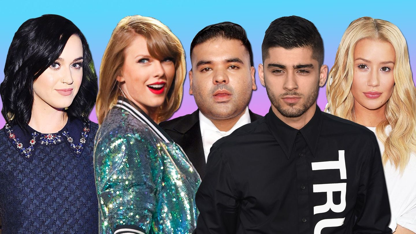 Here Are The 6 Pop Music Feuds We Couldn't Stop Talking About In 2015