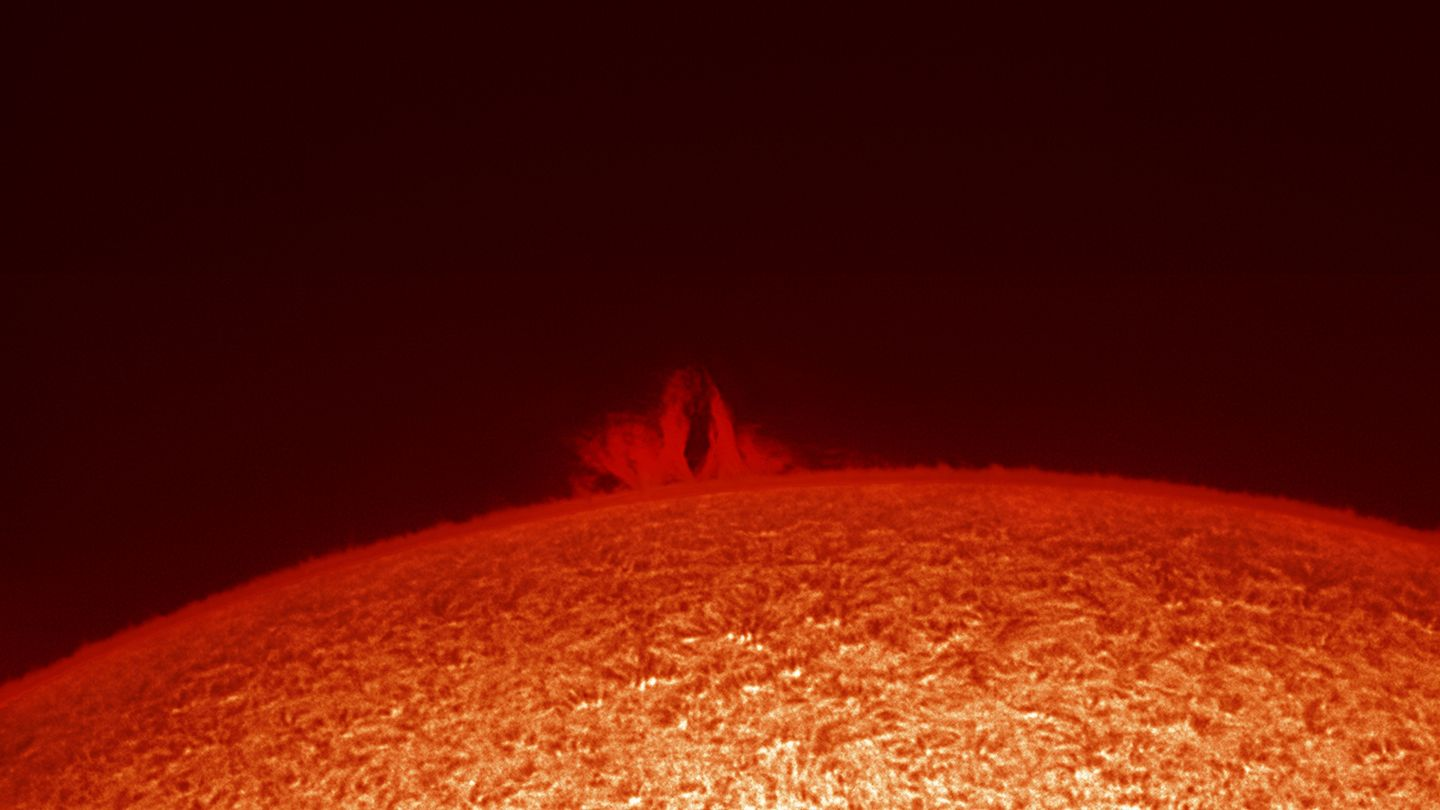 This Is Not A Michael Bay Movie: A Planet Is Being Destroyed By A Star