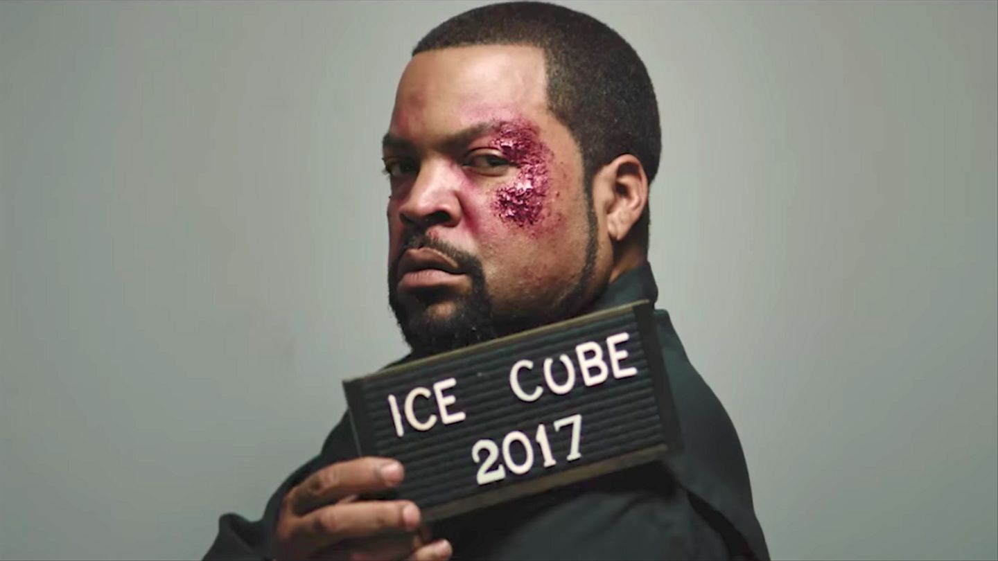 Ice Cube Lands Behind Bars In The Good Cop Bad Cop Video Mtv