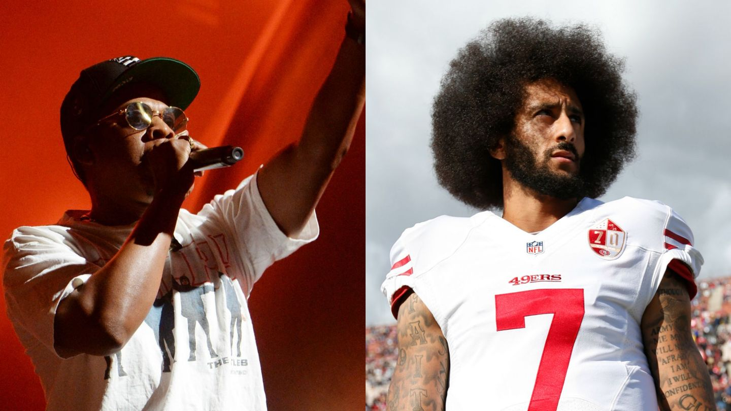 Jay-Z Shouted Out Colin Kaepernick With A Performance Of 'The Story of O.J.'