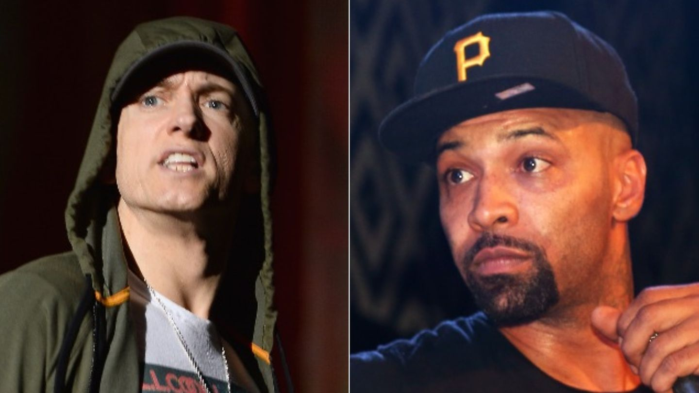 A Timeline Of Eminem And Joe Budden's Brewing Beef
