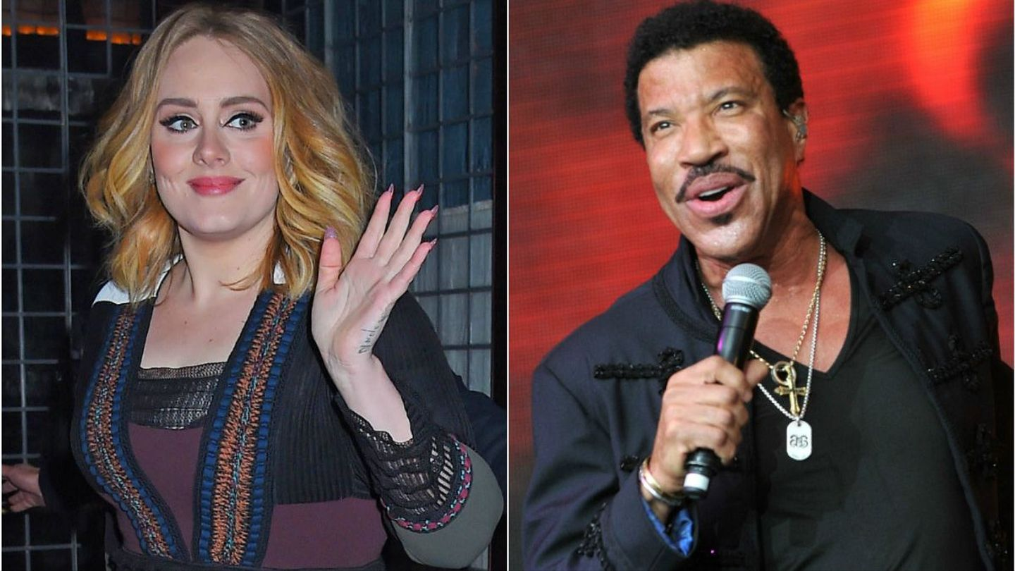 Adele May Say Hello To A Lionel Richie Collaboration Mtv