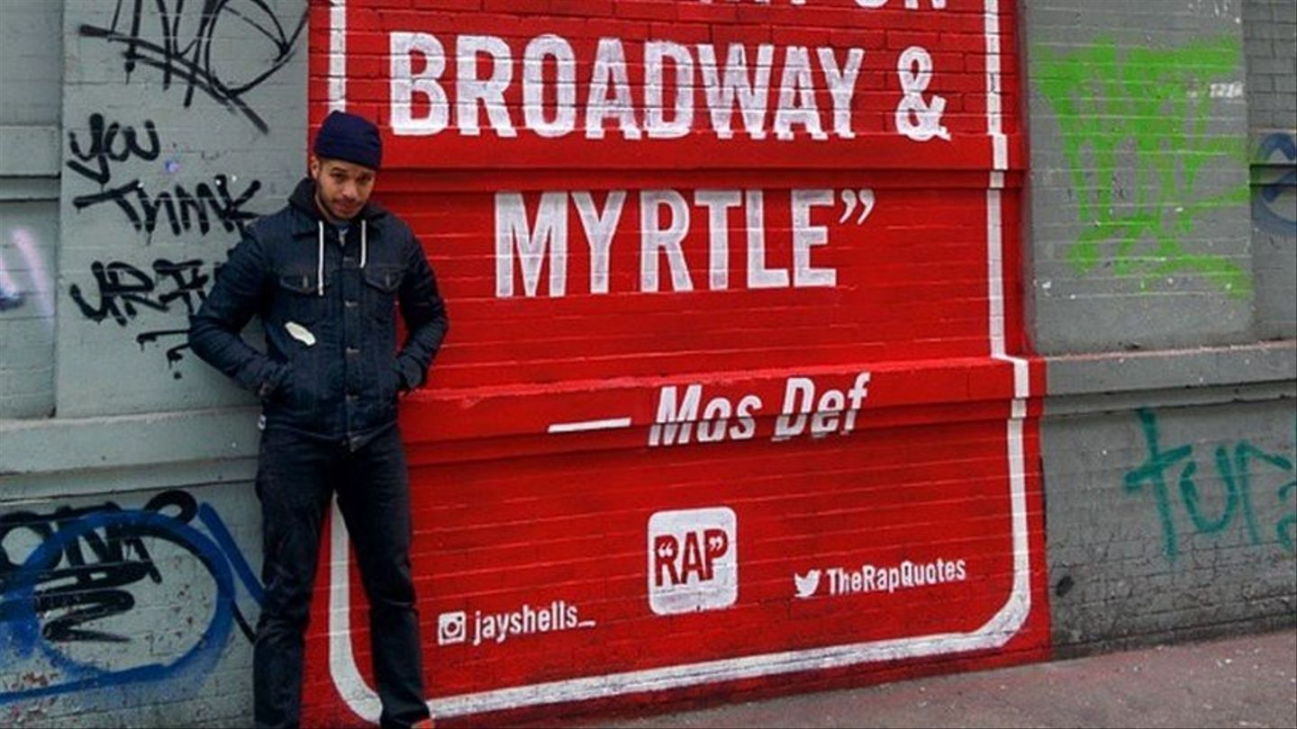 This Artist Brought A Little More Mos Def To The Streets Of Brooklyn