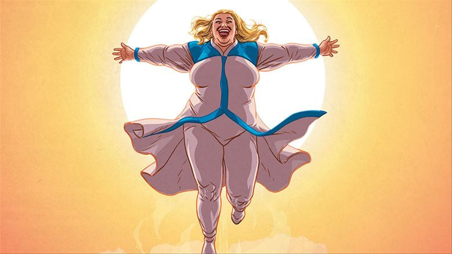 This Plus-Size Superhero Is Here To Save Us All From Lame Comic Book Stereotypes