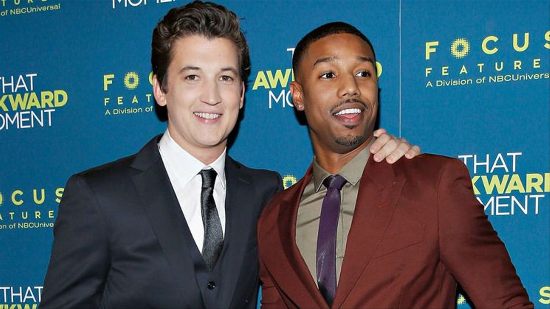 Those \'Awkward\' Co-Stars: Meet Michael B. Jordan And Miles Teller - MTV