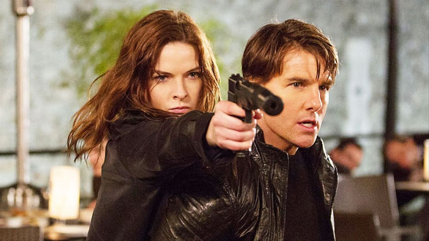 Even Tom Cruise Knows Rebecca Ferguson Was The Star Of Mission Impossible Rogue Nation Mtv