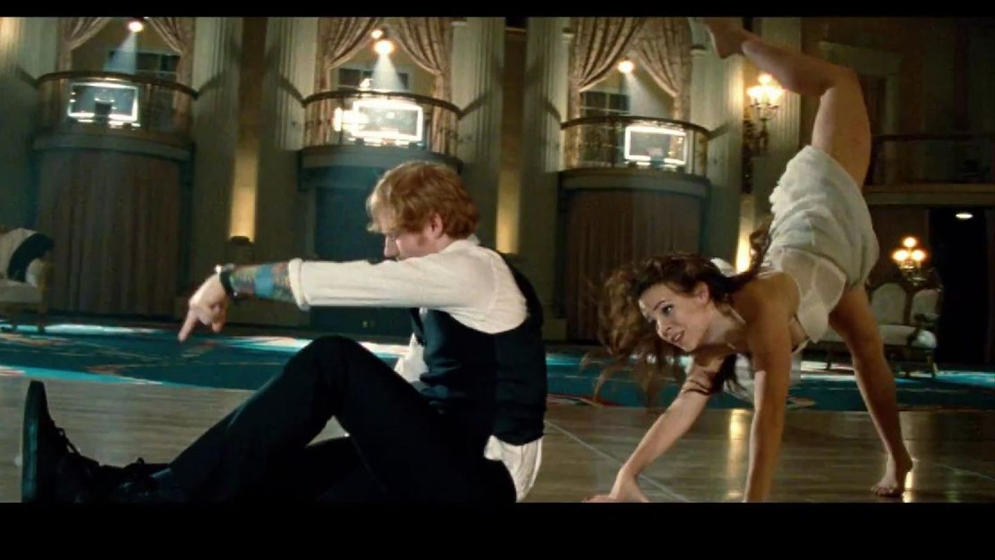Who Knew Ed Sheeran Could Dance Watch Thinking Out Loud