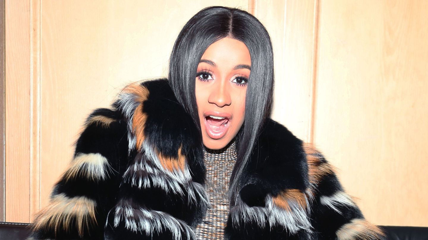 Cardi B Was Attacked By A Cheetah While Filming Her 'Bodak Yellow' Video