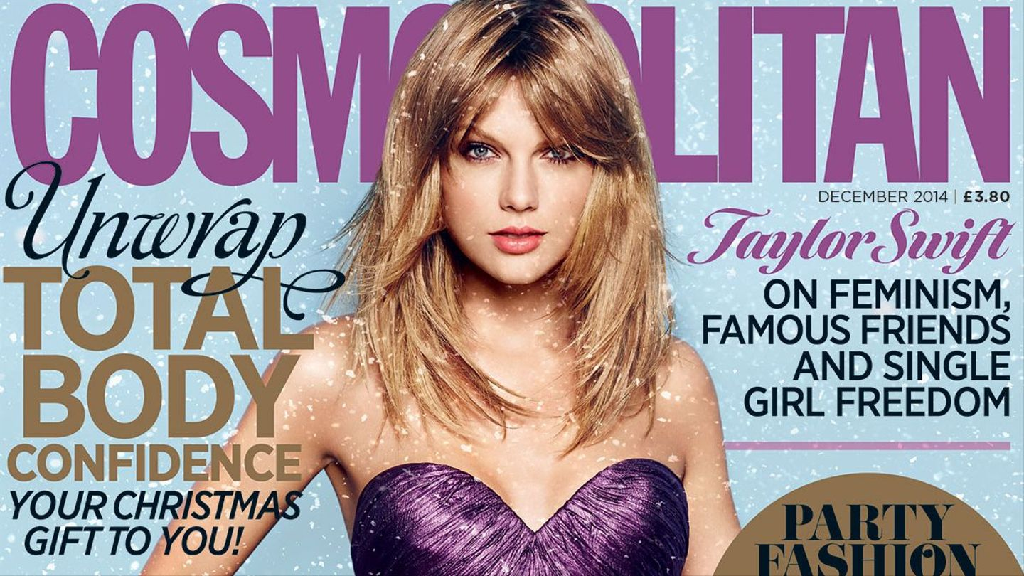 Taylor Swift Covers 23 Editions Of Cosmopolitan For December Nbd Mtv