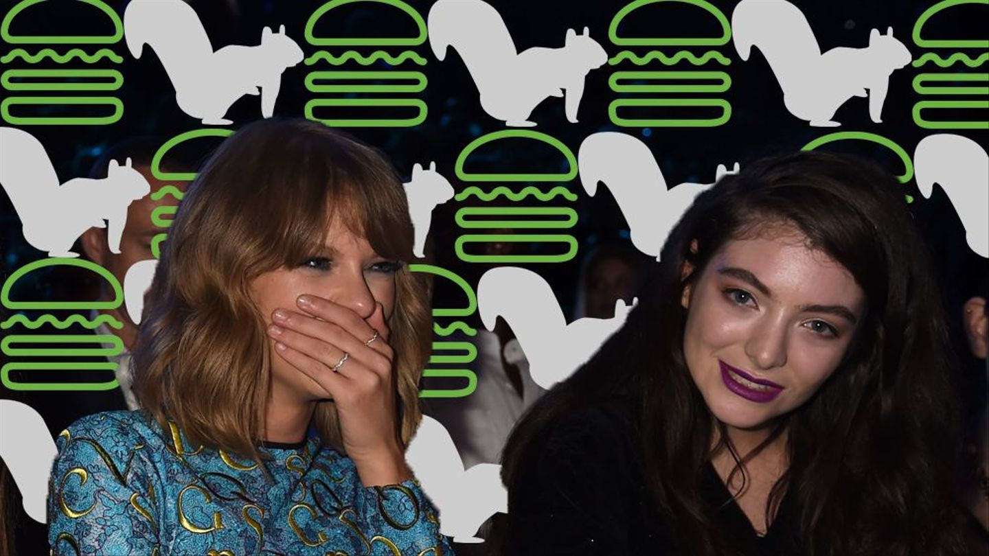 Lorde And Taylor Swift Were Attacked By Squirrels And Now No One Is Safe Mtv