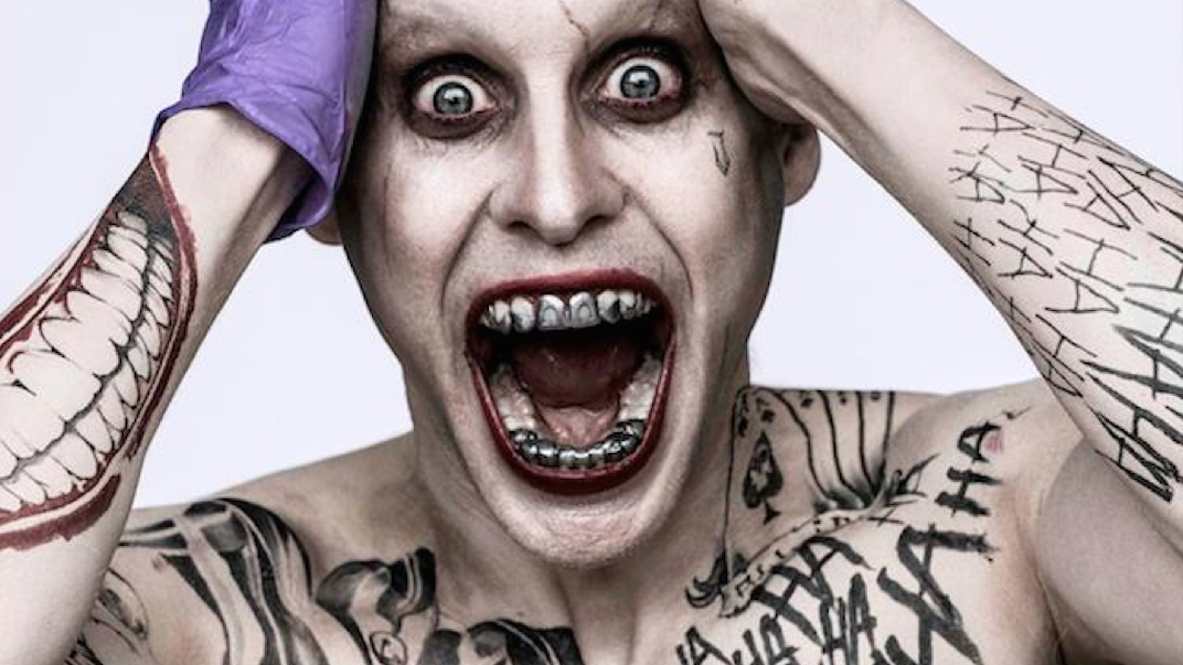 jared leto s joker stands fully revealed but leto s quotes are
