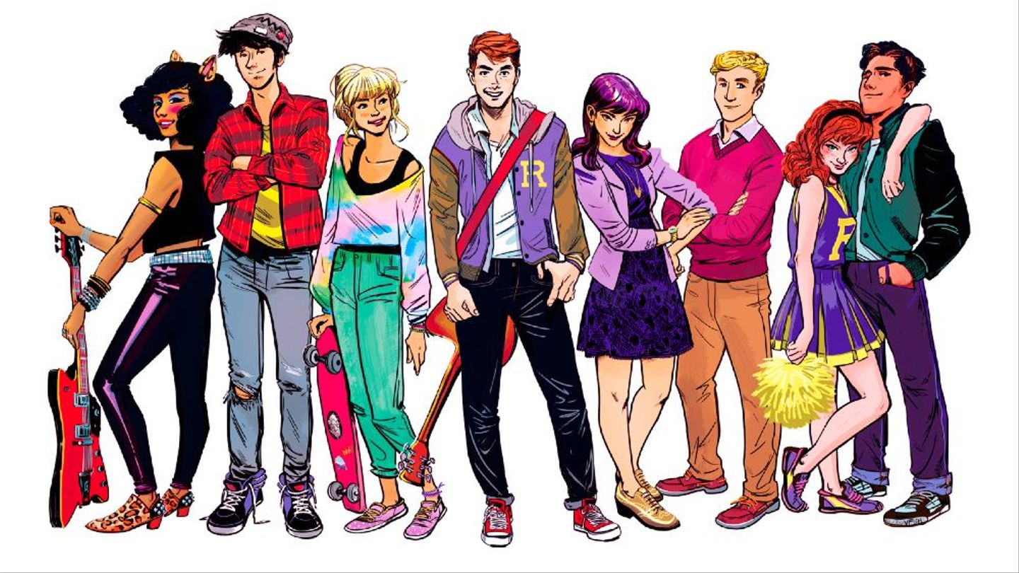 Meet The Very Attractive Cast Of The Cws Riverdale Starring Cole
