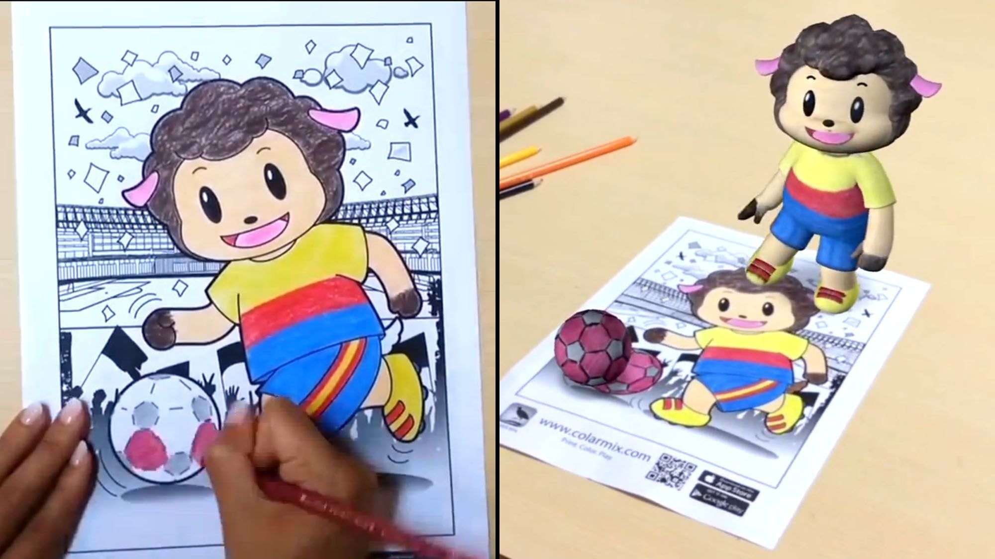 - 3 Apps Can Turn A Coloring Book Drawing Into A Moving 3D Image - MTV