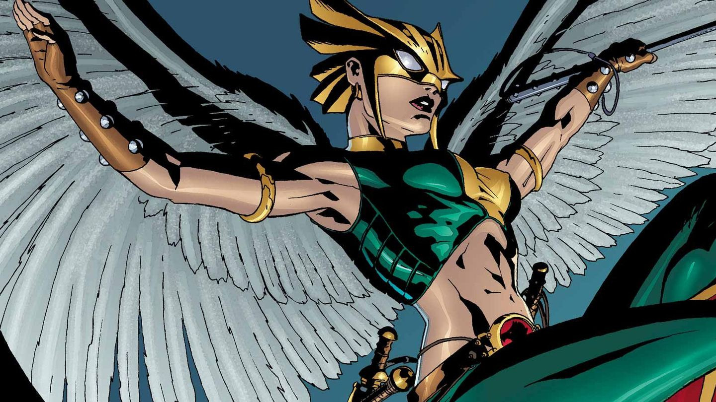DC's Legends Of Tomorrow' Reveals Their Hawkman and Hawkgirl