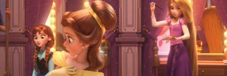 See All The Disney Princesses Together For The First Time In Wreck