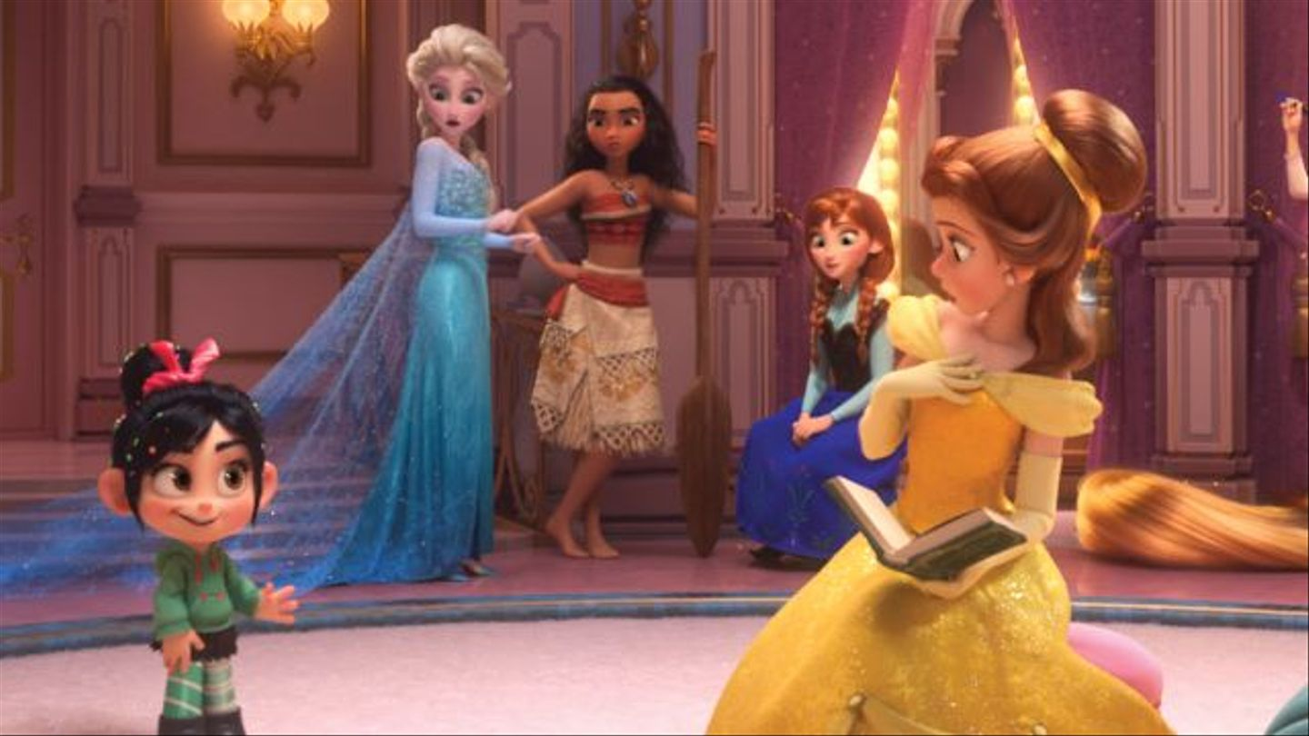 See All The Disney Princesses Together For The First Time