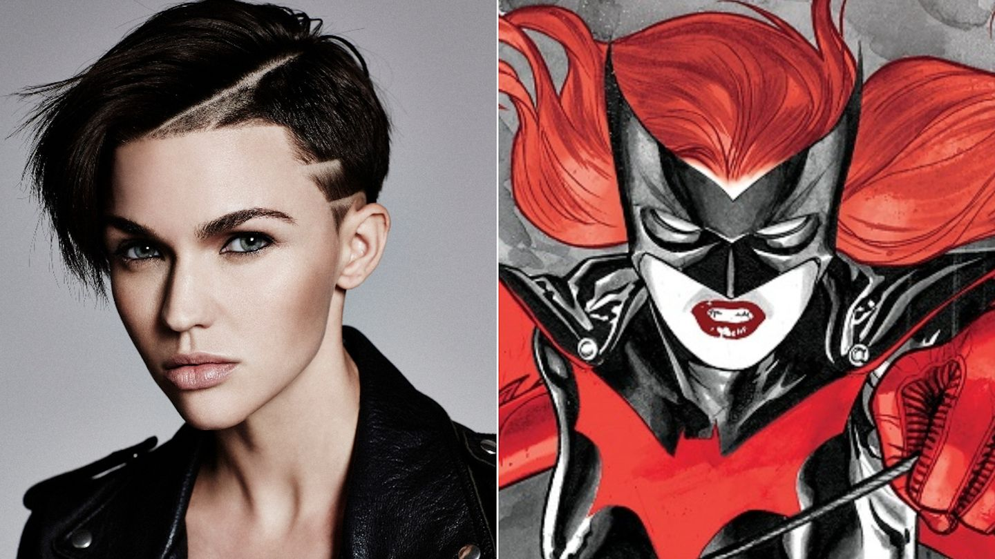 Batwoman Xxx ruby rose is officially the cw's batwoman - mtv